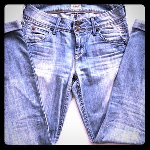 Distressed Hudson Jeans